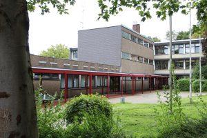 Die ehemalige Hauptschule Krahenhöhe. (Archivfoto: © Bastian Glumm)