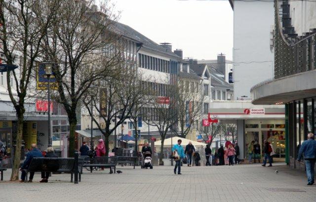 Wie geht es mit der Solinger City, der Innenstadt und vor allen Dingen der Hauptstraße weiter? (Foto: © Bastian Glumm)