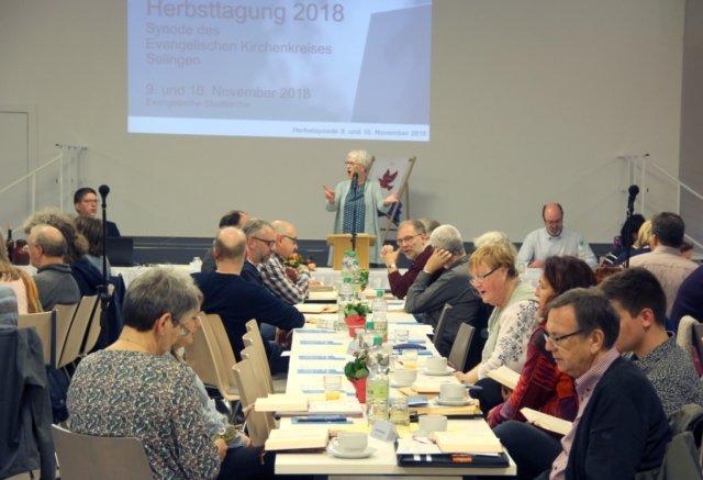 Am Freitag und am Samstag fand die Herbsttagung der Synode des Evangelischen Kirchenkreises Solingen in der Stadtkirche statt. (Foto: © Bastian Glumm)