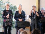 """Am Freitag wird das Solinger Ensemble """"Vocalissime"""" bei einem Schaufensterkonzert im leer stehenden Ladenlokal an der Hauptstraße 26 auftreten. (Archivfoto: © Bastian Glumm)"""