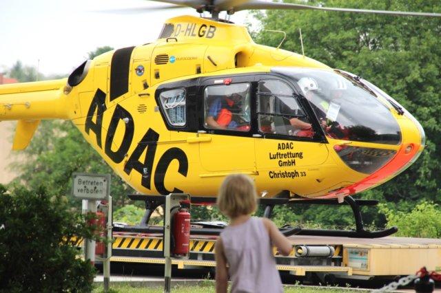 Per Rettungshubschrauber wurde eine Notärztin aus Köln eingeflogen. (Symbolfoto: © Bastian Glumm)