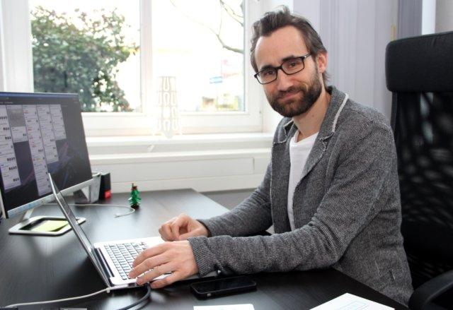 Felix Heuer bietet mit seiner Firma