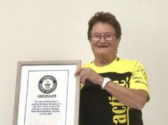 """Die Solingerin Josefine """"Susi"""" Meerkamp ist die älteste aktive Handballspielerin der Welt und steht jetzt im Guiness Buch der Rekorde. (Foto: © WMTV)"""