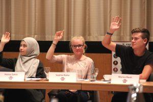 Von den 51 Kandidatinnen und Kandidaten wurden 25 Jugendliche - vier mehr als noch 2015 - in den neuen Jugendstadtrat gewählt. (Foto: © B. Glumm)