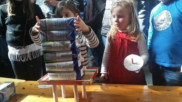 Am 25. März veranstaltet das LVR-Industriemuseum gemeinsam mit den Merscheider Kitas wieder ein großes Kinderfest. Dabei wird Kreativität groß gechrieben. (Foto: © Industrieuseum / Axel Lübeck)