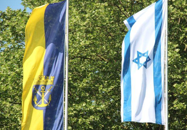Am Mittwoch wird vor dem Solinger Rathaus die israelische Flagge wehen. (Archivfoto: © Bastian Glumm)