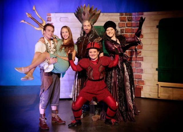 """Ein Leckerbissen nicht nur für Kinder: Am 7. Januar kommt """"Die kleine Meerjungfrau – das Musical"""" des Theaters Liberi nach Solingen. (Foto: Theater Liberi)"""