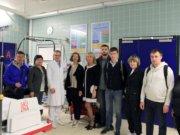 Gäste aus Russland, Weißrussland und Kasachstan im Schockraum des Städtischen Klinikums (Foto: © Karin Morawietz)