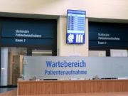 Die Patientenaufnahme im Klinikum Solingen wurde neu gestaltet. (Foto: © Bastian Glumm)