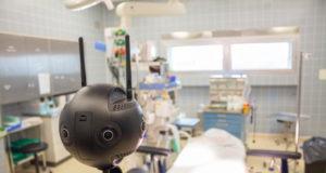 """In einer virtuellen 360-Grad-Präsentation können alle Räume der Geburtshilfe im Klinikum Solingen in Ruhe """"begangen"""" werden. (Foto: © EXCIT3D)"""