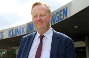 Dr. Martin Eversmeyer ist neuer Kaufmännischer Geschäftsführer des Solinger Klinikums. (Foto: © Bastian Glumm)