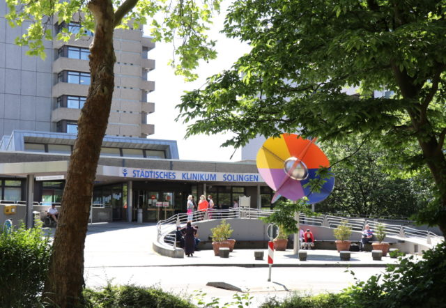 Das Klinikum an der Gotenstraße ist ein Haus der Maiximalversorgung und wird kommunal getragen. (Foto: © Bastian Glumm)