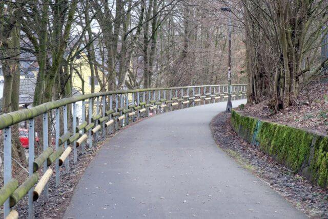 Die Korkenziehertrasse in Solingen. (Foto: © Bastian Glumm)