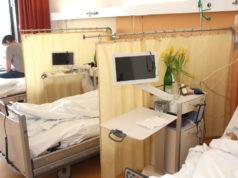 Corona-Krise: Besuche von Patientinnen und Patienten in den drei Solinger Krankenhäusern - Städtisches Klinikum, St. Lukas Klinik und Lungenfachkrankenhaus Bethanien - bleiben weiterhin deutlich eingeschränkt. (Archivfoto: © Bastian Glumm)