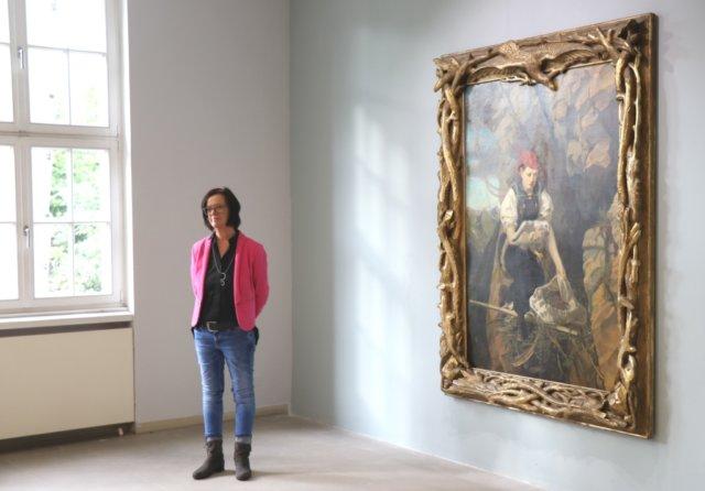 """Nur noch bis zum 23. Juni 2019 zeigt das Kunstmuseum Solingen die Ausstellung """"Geierwally und der Berg in der zeitgenössischen Kunst"""". (Foto: © Bastian Glumm)"""