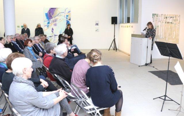 Am Samstagabend wurde die diesjährige Jahresschau der Solinger Künstler im Kunstmuseum in Gräfrath eröffnet. (Foto: © Bastian Glumm)