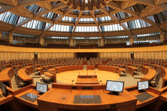 Der nordrhein-westfälische Landtag in Düsseldorf. (Foto: © Landtag NRW)
