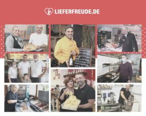 Zehn Gastronomen - überwiegend aus Solingen und Haan, aber auch aus Bonn - nehmen bisher am Projekt teil. (Collage: © Neolnk/Fotos: © Bastian Glumm)