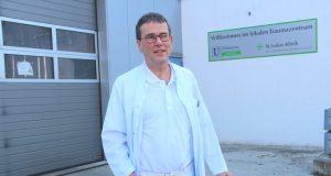Dr. Bernhard Plath (59) ist neuer Chefarzt der Zentralen Aufnahmeeinheit ZAE in der Ohligser St. Lukas Klinik. (Foto: © B. Glumm)
