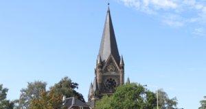 Die Lutherkirche in der City an der Martin-Luther-Straße. (Foto: © Bastian Glumm)