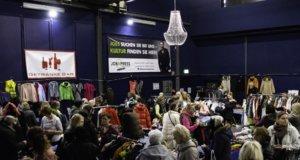Am vergangenen Samstag fand in der Merscheider Cobra der beliebte Mädchenflohmarkt statt. Männer mussten draußen bleiben! (Foto: © Janina Raeder)