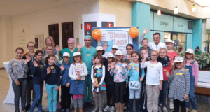 """Knapp 30 begeisterte Kinder waren beim """"Maus-Türöfffner-Tag"""" im Klinikum dabei. (Foto: © Andre Bretzke/Klinikum)"""