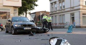 In Merscheid kam es am Dienstagabend zu einem Verkehrsunfall, bei dem ein 25-jähriger Motorradfahrer schwer verletzt wurde. (Foto: © Das SolingenMagazin)