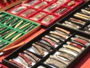 Die neue Klingenmesse in Solingen, KNIFE, geht am Samstag corona-bedingt nur virtuell an den Start und kann im Internet erlebt werden. (Archivfoto: © Bastian Glumm)