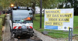 """""""Sauberes Solingen"""". Unter diesem Motto findet am 25. September wieder ein großer Dreck-weg-Tag im gesamten Stadtgebiet statt. (Archivfoto: © Bastian Glumm)"""