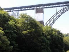 Die Müngstener Brücke und der Brückenpark. (Archivfoto: © Bastian Glumm)