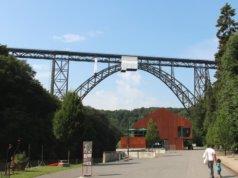 Gemeinsam mit inzwischen fünf weiteren Brücken in Portugal, Frankreich und Italien soll die Müngstener Brücke Unesco-Weltkulturerbe werden. (Foto: © Bastian Glumm)