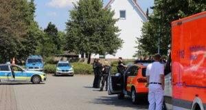Die Polizei in Solingen wurde am Donnerstag über schussähnliche Geräusche im Bereich eines Wohnhauses an der Niedersachsenstraße informiert. (Foto: © Das SolingenMagazin)
