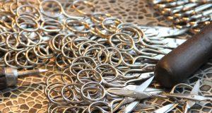 """Auf Herstellung und Vertrieb von Scheren für jeden denkbaren Bereich haben sich die """"Scherenprofis"""" der Firma NTS-Solingen in der Kohlfurth spezialisiert. (Foto: © B. Glumm)"""