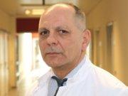 """Dr. Ulrich Jaschke leitet das neu eingerichtete """"Department für Gefäßchirurgie"""" im Klinikum Solingen. (Foto: © Bastian Glumm)"""