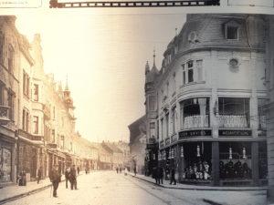 Seit Beginn des 20. Jahrhunderts waren die jüdischen Händlerinnen und Händler an der Düsseldorfer Straße fester Bestandteil des aufstrebenden Ohligser Zentrums. (Foto: © Stadt Solingen)