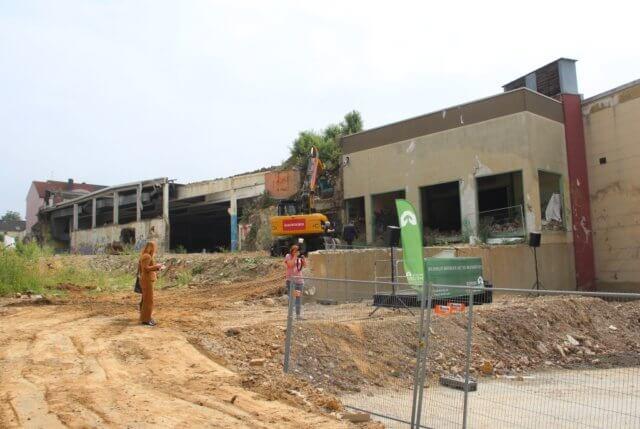 Auf dem Gelände der ehemaligen Firma Olbo in Ohligs sollen knapp 300 Wohnungen entstehen. (Archivfoto: © Bastian Glumm)
