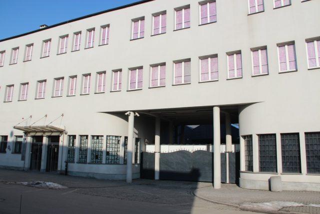 Das Museum für Gegenwartskunst ist in der ehemaligen Fabrik