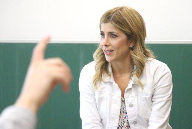 TV-Moderatorin Panagiota Petridou wird am 7. Juni als