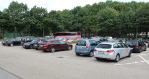 Das Kulturzentrum Cobra bietet ab Donnerstag, 20. April, bis zum 1. Juni ein Autokino auf dem Parkplatz am Weyersberg vor der Klingenhalle an. (Foto: © Bastian Glumm)