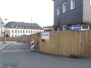 Am Montag, 9. August, wird die Vollsperrung der Peter-Knecht-Straße aufgehoben, es gilt dann wieder eine Einbahnstraßen-Regelung. (Archivfoto: © Bastian Glumm)