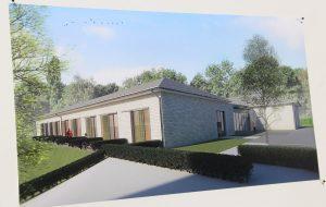 Lichtdurchflutet und offen soll das neue Hospiz werden. Jedes der zehn Gästezimmer bekommt zudem eine Terrasse. (Foto: © B. Glumm)