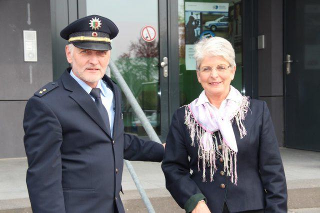 Polizeipräsidentin Birgitta Radermacher und Solingens Polizeichef Robert Hall werden den Solinger Blaulichttag am 13. August um 11 Uhr eröffnen. (Archivfoto: © B. Glumm)