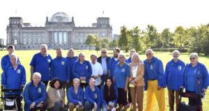 Ihre diesjährige Vereinstour führte die Karnevalisten der Prinzengarde Blau-Gelb Solingen-Ohligs nach Berlin. (Foto: © Prinzengarde Solingen-Ohligs)