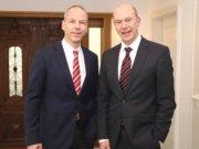 Dr. Hans-Gerd Stüttgen (li.) und Jörg Kayser sind Partner in der Quadrilog-Beratergruppe. (Foto: © Bastian Glumm)