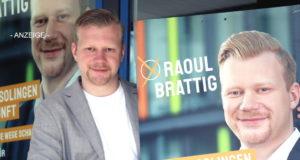 Raoul Brattig möchte Solinger Oberbürgermeister werden, der 28-jährige Solinger tritt am 13. September bei den Wahlen für die FDP an. (Foto: © Bastian Glumm)