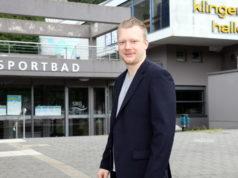 OB-Kandidat Raoul Brattig (FDP) sieht den Sport in Solingen gut aufgestellt, wünscht sich aber trotzdem mehr Förderung in Breiten- und Spitzensport. (Foto: © Bastian Glumm)