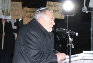 Leonid Goldberg ist Vorstandsvorsitzender der Jüdischen Kultusgemeinde Wuppertal. Zu dieser gehören auch die Solingerinnen und Solinger jüdischen Glaubens. (Foto: © Bastian Glumm)