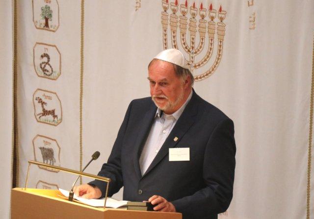 Horst Koss leitete fast 30 Jahre lang das Diakonische Werk in Solingen. Auf dem Neujahrsempfang der Jüdischen Kultusgemeinde Wuppertal wurde ihm jetzt die