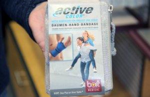 Auch spezielle Bandagen helfen bei bestimmten Beschwerden. (Foto: © Bastian Glumm)