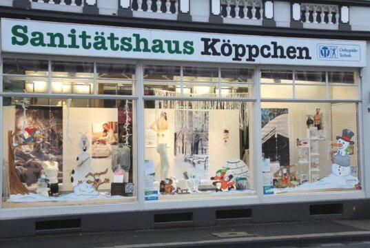 Das Sanitätshaus Köppchen feierte vergangenes Jahr sein 40-jähriges Bestehen. (Archivfoto: © Bastian Glumm)